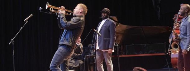 Nils Wülker spielt mit Gregory Porter